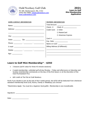 2021 Learn to Golf Application RevA small